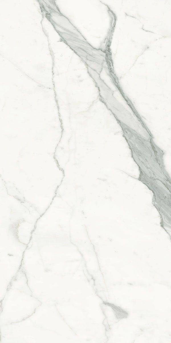 Calacatta Statuario Marble Lab White Marble Effect Porcelain Tiles