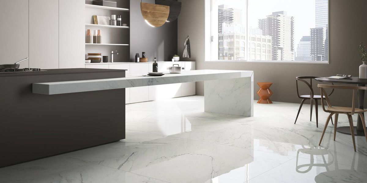 Marble & Granite Effect Porcelain Tile - Fiandre