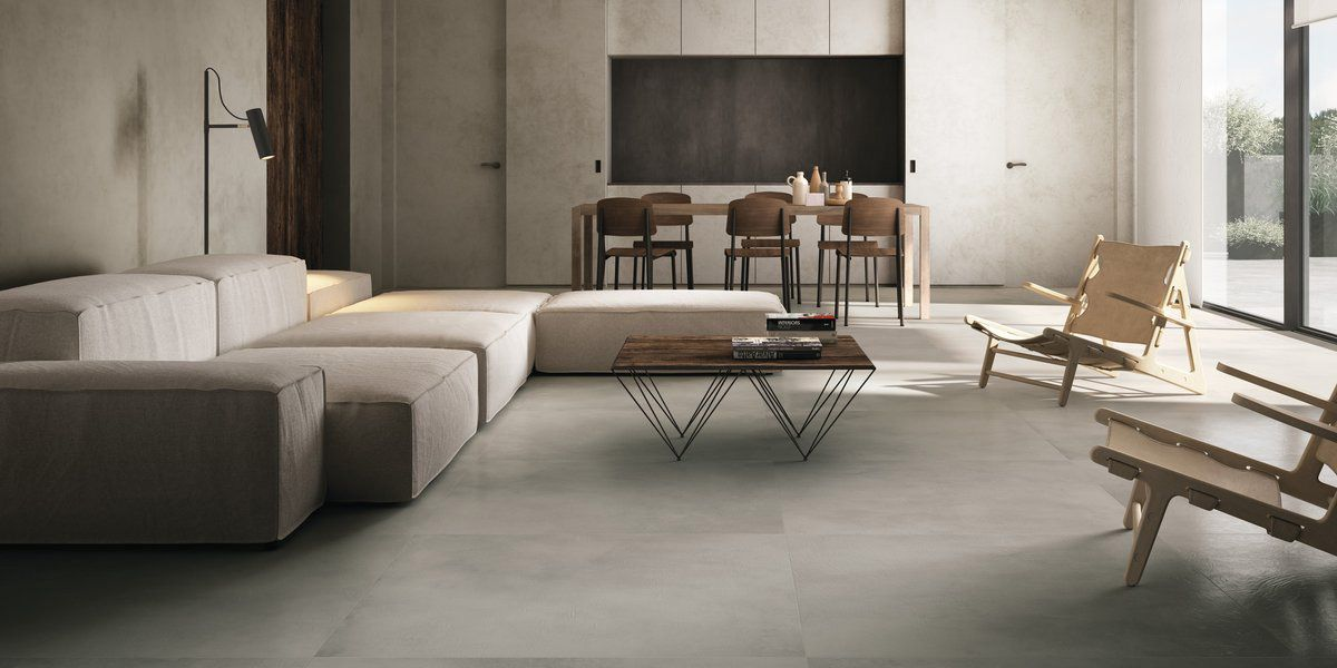 Resin Concrete Effect Tiles Fiandre