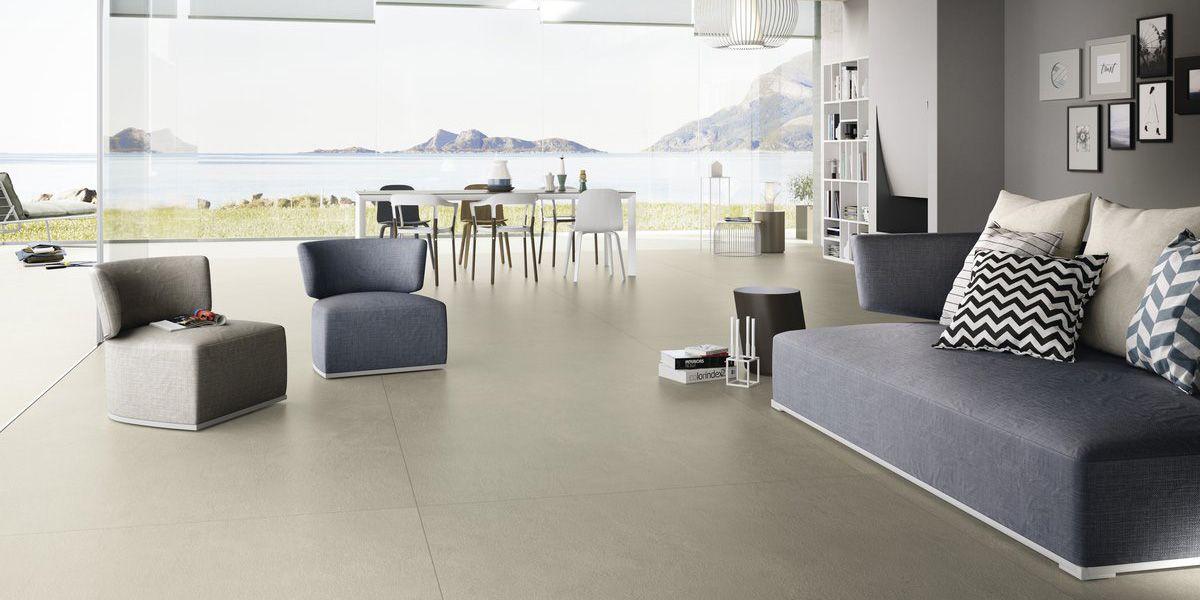Venus maximum Aster maximum, grey resin/concrete effect floor and ...