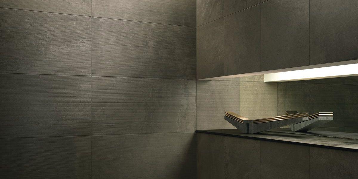 snug core core shade brown resin concrete effect porcelain tiles
