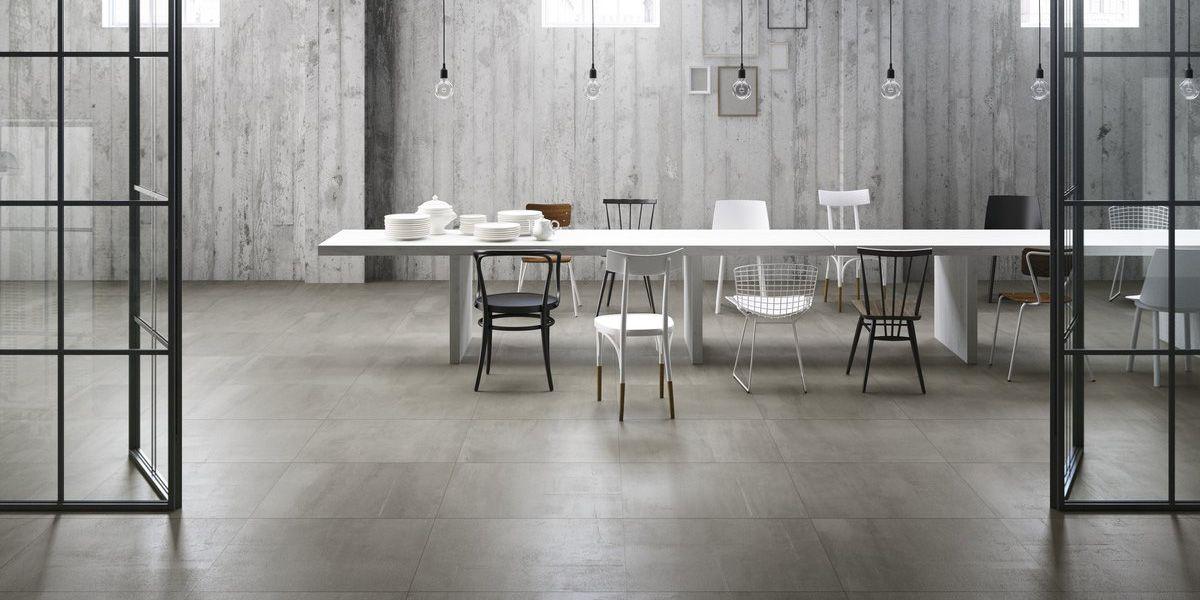500f Heat Fahrenheit Grey Resinconcrete Effect Porcelain Tiles