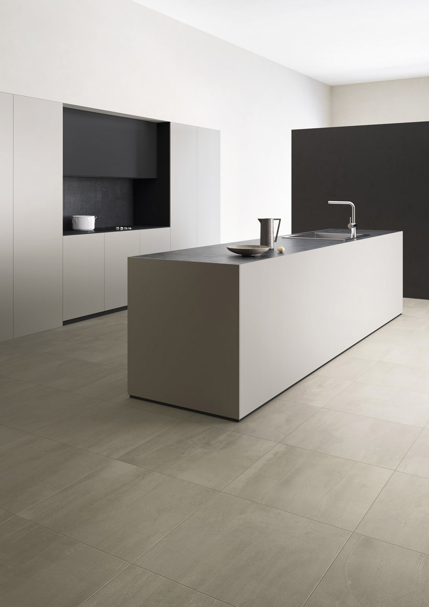 Concrete Effect Porcelain Tiles In Seven Shades Of Grey Fahrenheit