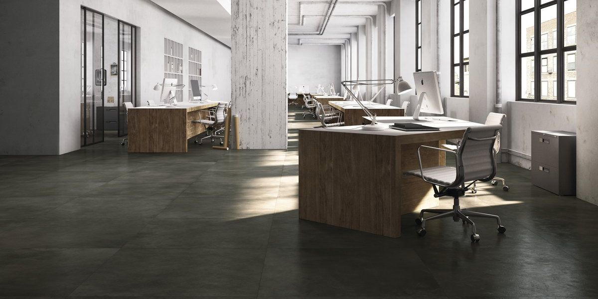 Dark resin Hq.resin, black resin/concrete effect floor and wall ...