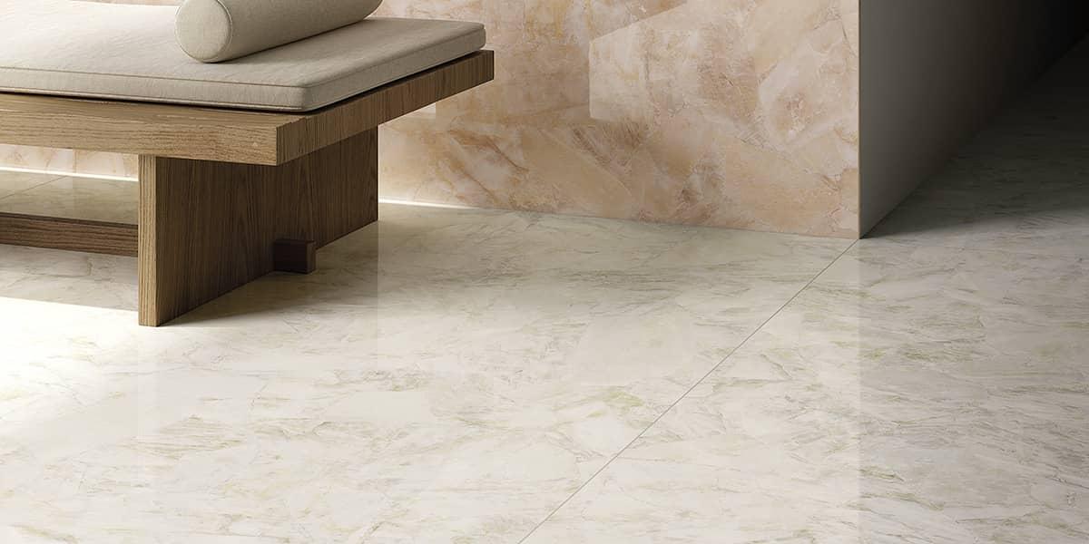 Laying Porcelain Tile Floor