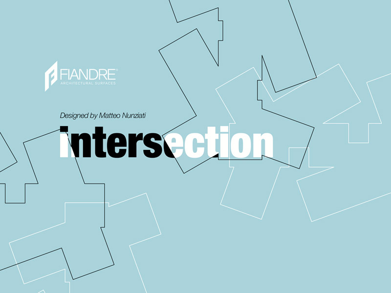 CERSAIE 2017: INTERSECTION / designed by Matteo Nunziati