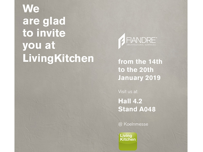 FIANDRE AT LIVING KITCHEN 2019, THE INTERNATIONAL KITCHEN SHOW
