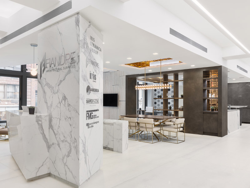 A New Showroom In New York For Iris Ceramica Group News Fiandre