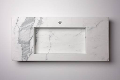 Washbasin integrated single waterfall and up&down