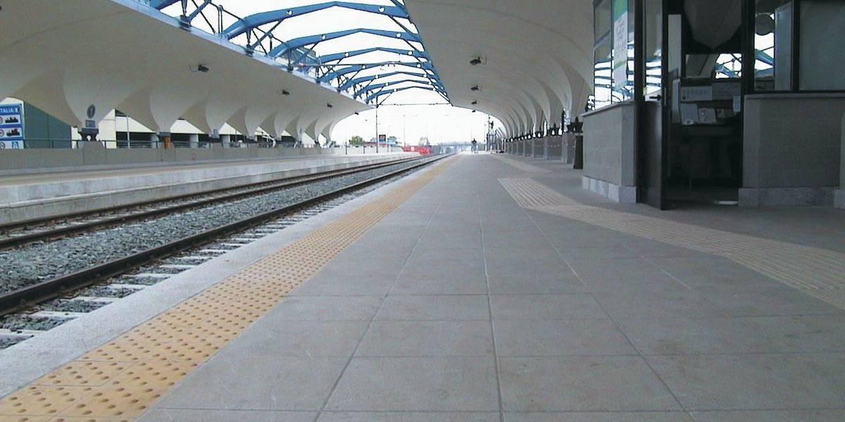 Torino Caselle Train Station Italy Fiandre