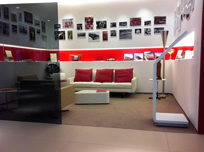 Ferrari Showroom Hungary Fiandre