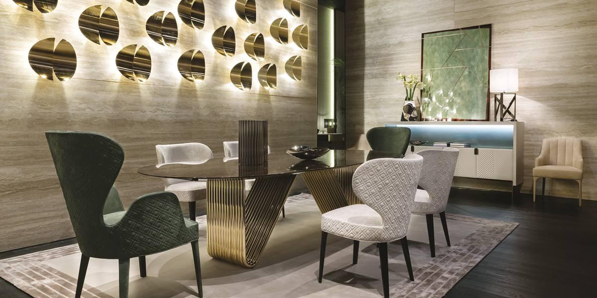 Stand Rugiano Home Decor Salone Del Mobile Italy Fiandre