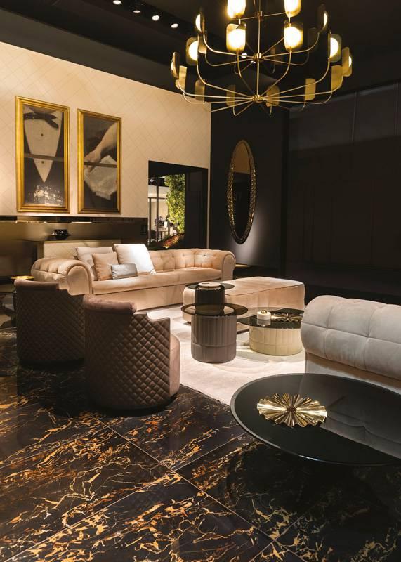 stand veblen salone del mobile 2017 italy fiandre. Black Bedroom Furniture Sets. Home Design Ideas
