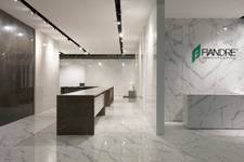 Living and office - CERSAIE 2016 / Fiandre Architectural Surfaces