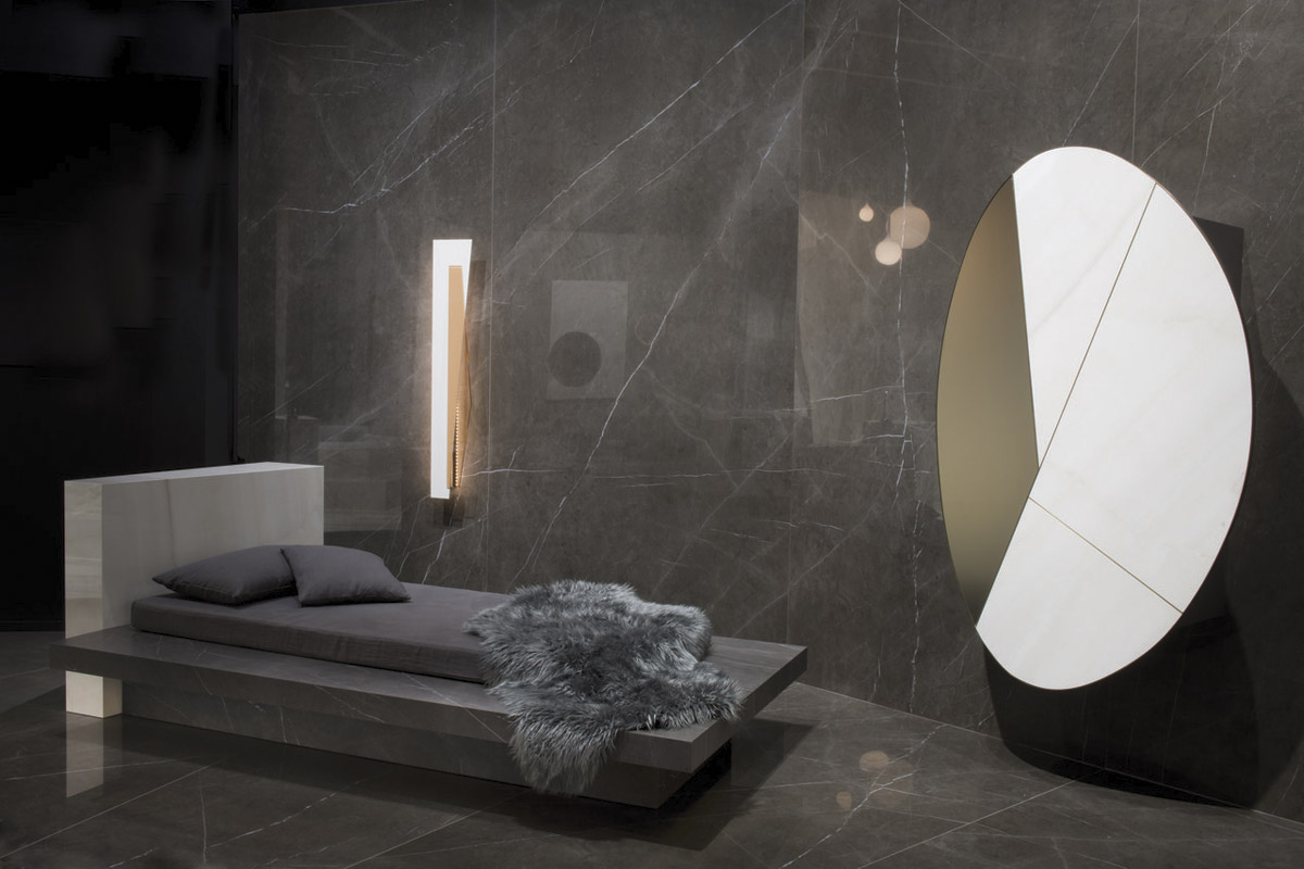 Dormeuse lamp and cabinet fab architectural bureau castellarano