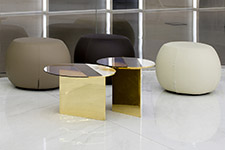 Living and office - SEAT AND SMALL TABLES | FAB ARCHITECTURAL BUREAU CASTELLARANO