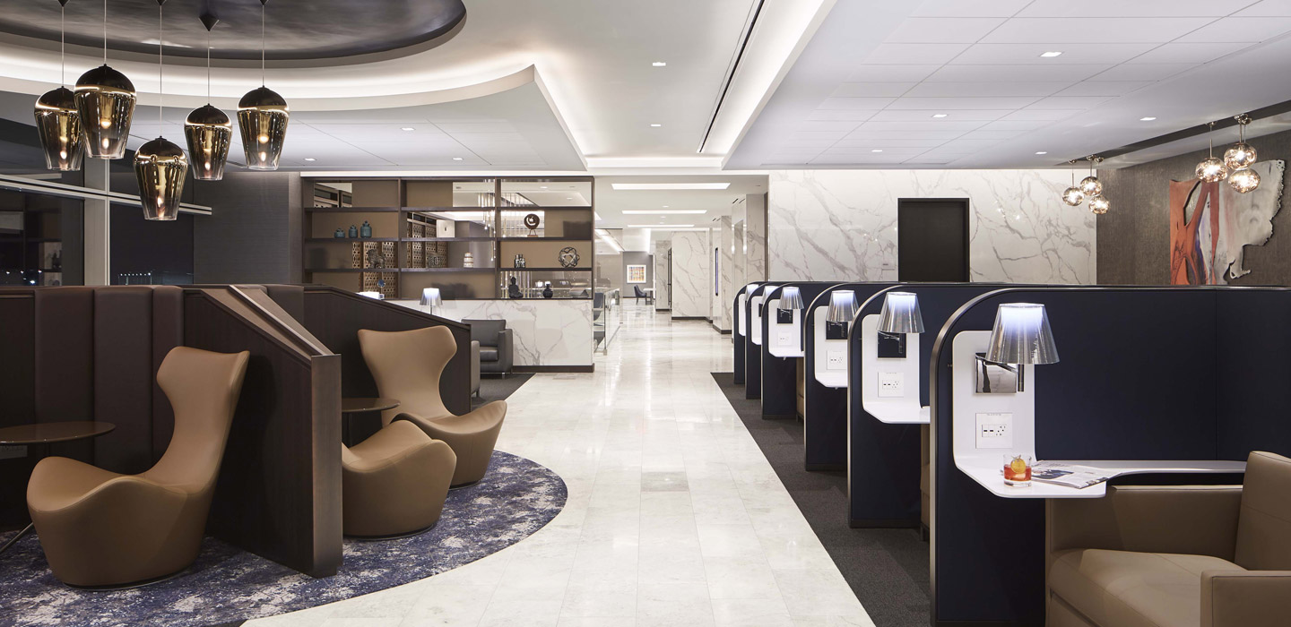 Stations and Airports - UNITED AIRLINES POLARIS LOUNGES
