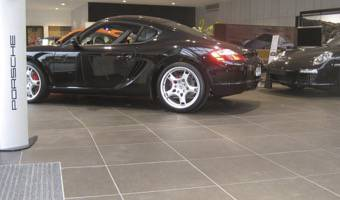 porcelain tile flooring for car dealers and car showroom granitifiandre. Black Bedroom Furniture Sets. Home Design Ideas