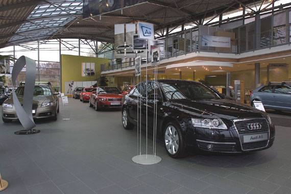 AUDI CAR DEALER Czech Republic Fiandre - Audi car dealers
