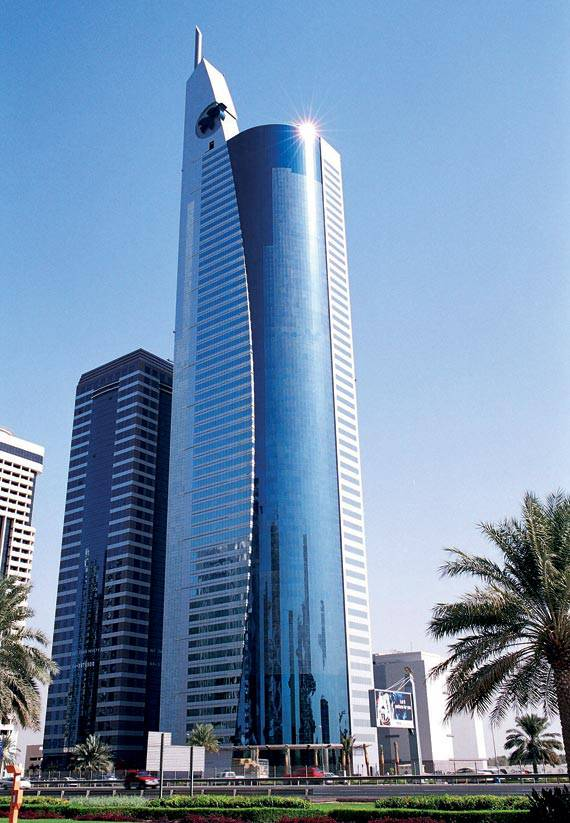 Tile For Floors >> 21st CENTURY TOWER, United Arab Emirates - Fiandre