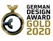 GERMAN DESIGN AWARD GOLD 2020